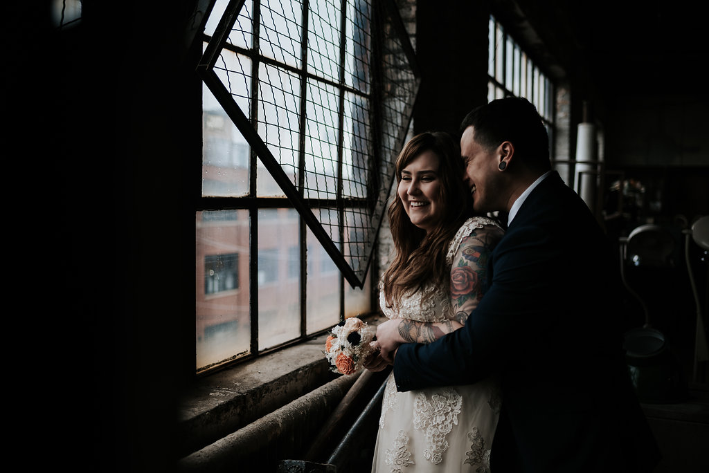 Salvage One Chicago Wedding